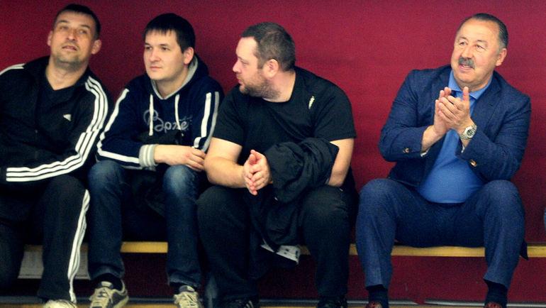 """Аплодисменты от патриарха российского футбола. Фото Никита УСПЕНСКИЙ, """"СЭ"""""""