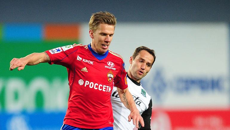 Понтус ВЕРНБЛУМ и Роман ШИРОКОВ теперь в одной команде. Фото Антон СЕРГИЕНКО