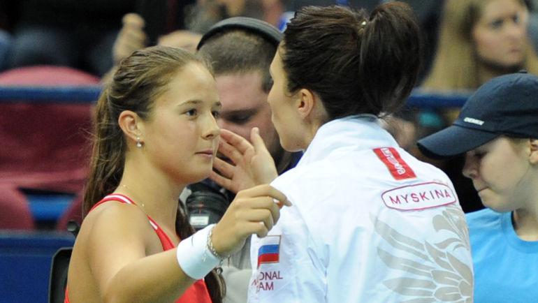"""Дарья КАСАТКИНА и Анастасия МЫСКИНА. Фото Никита УСПЕНСКИЙ, """"СЭ"""""""