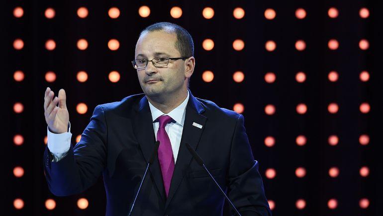 Генеральный секретарь ФИБА Патрик БАУМАНН. Фото AFP