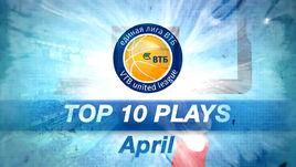 Топ 10 игровых моментов апреля