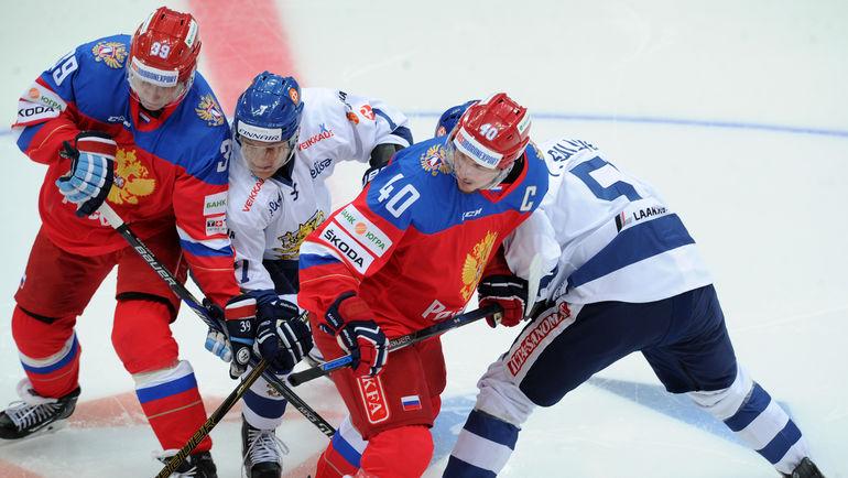 Сборная РФ похоккею вновь уступила команде Финляндии вовстрече Евротура