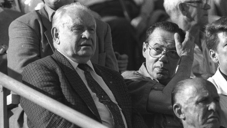 1990-е. Константин БЕСКОВ. Фото Дмитрий СОЛНЦЕВ