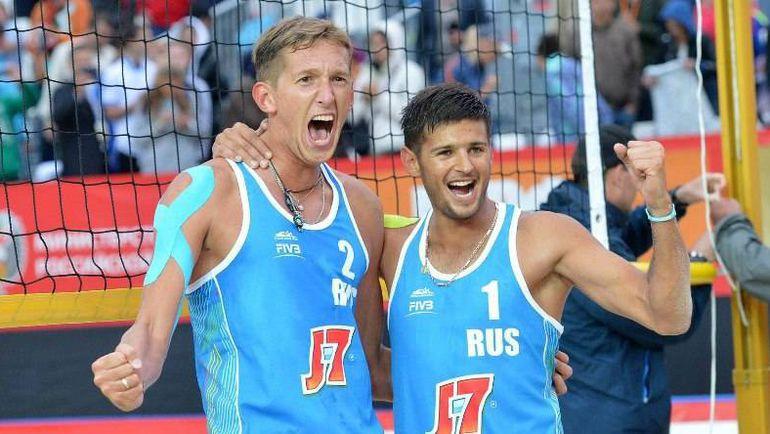 Константин СЕМЕНОВ (слева) и Вячеслав КРАСИЛЬНИКОВ. Фото dynamo-krr.ru