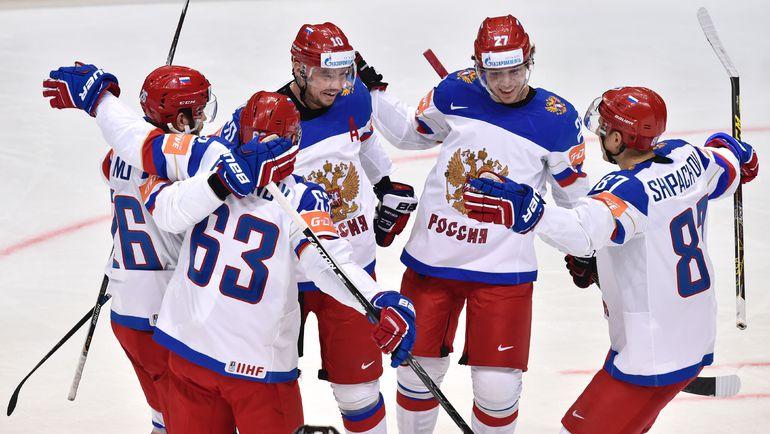 Росиия вырвала победу у Казахстана на ЧМ по хоккею (Видео)