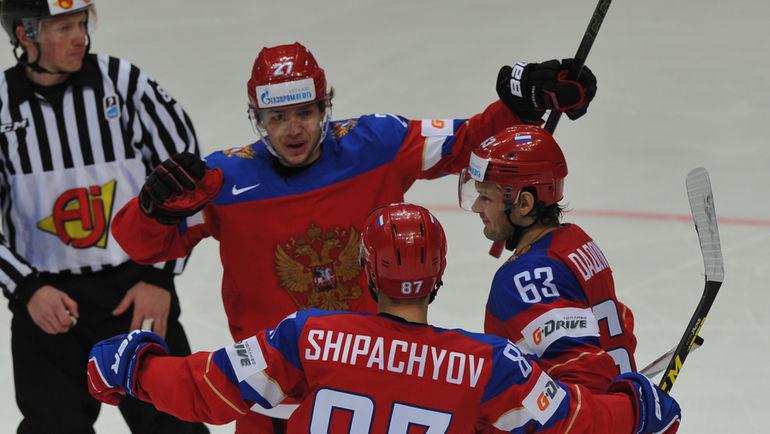 как сыграла россия в хоккей с норвегией