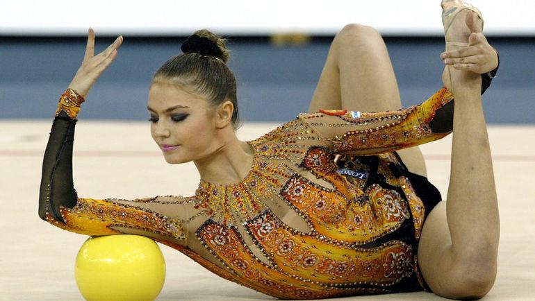 2003 год. Алина КАБАЕВА. Фото AFP