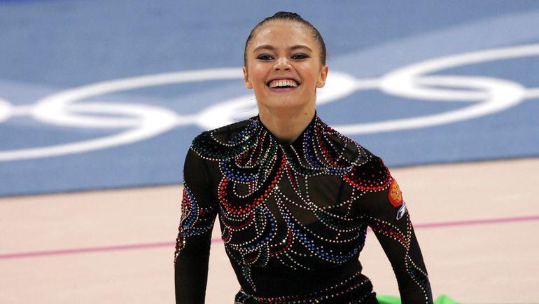 2004 год. Алина КАБАЕВА на Олимпиаде в Афинах. Фото Александр ВИЛЬФ