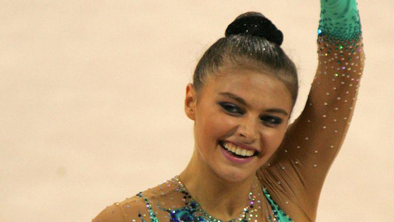 2004 год. Алина КАБАЕВА на Олимпиаде в Афинах. Фото REUTERS