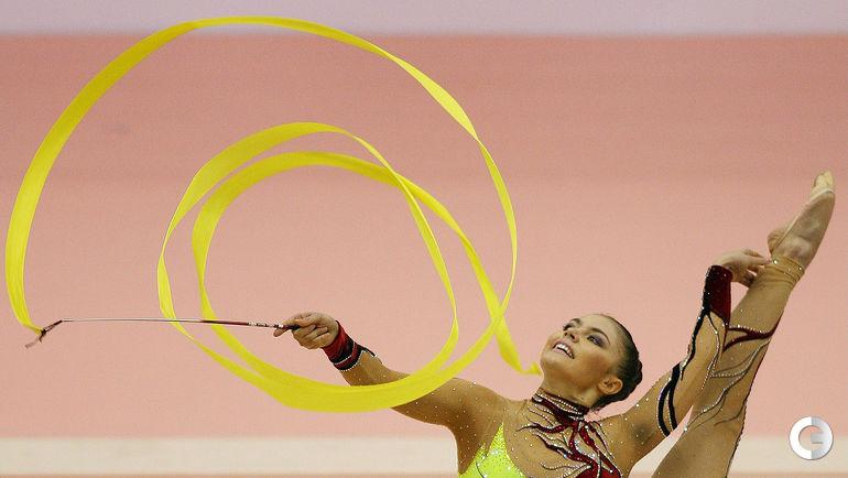 2006 год. Алина КАБАЕВА. Фото AFP
