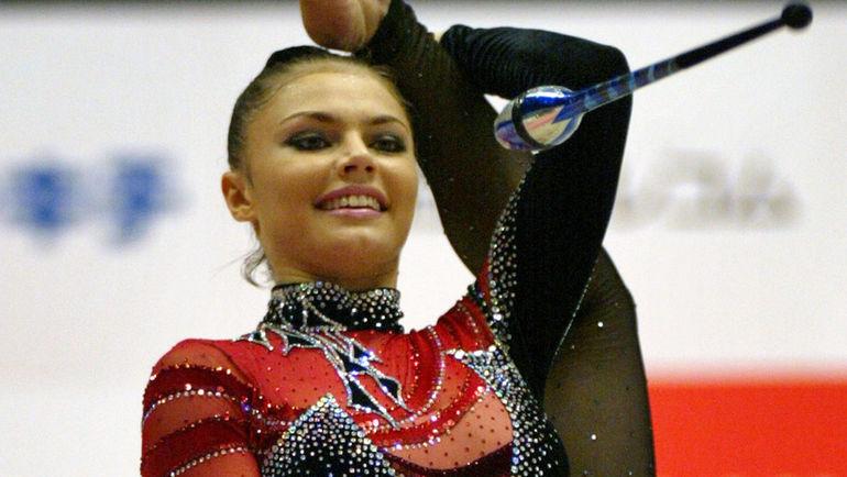 2003 год. Алина КАБАЕВА. Фото REUTERS