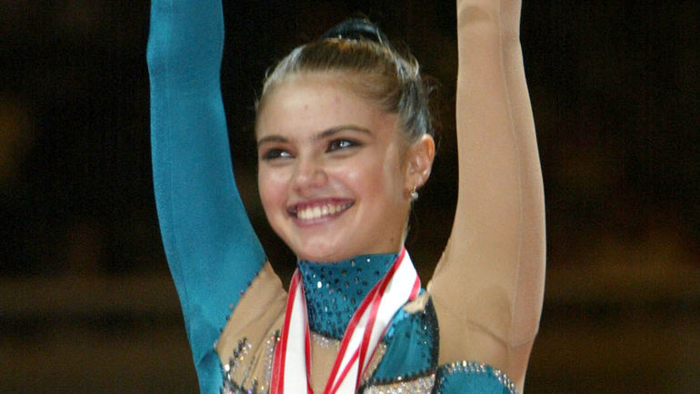 2002 год. Алина КАБАЕВА. Фото REUTERS