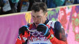 Февраль 2014 года. Сочи. Олимпийский чемпион Александр ЛЕГКОВ.