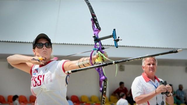 Чемпионка Европы в стрельбе из классического лука Татьяна СЕГИНА. Фото http://www.archeryeurope.org