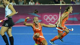 Голландские хоккеистки выиграли золото