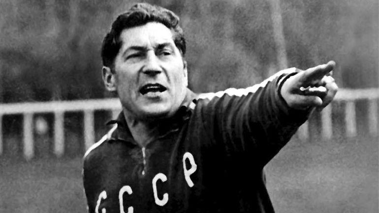 1972 год. Герман ЗОНИН - главный тренер сборной СССР. Фото Юрий СОКОЛОВ