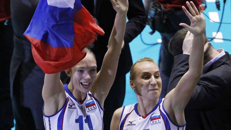 2010 год. Екатерина ГАМОВА и Любовь СОКОЛОВА: Россия - снова чемпион мира! Фото REUTERS