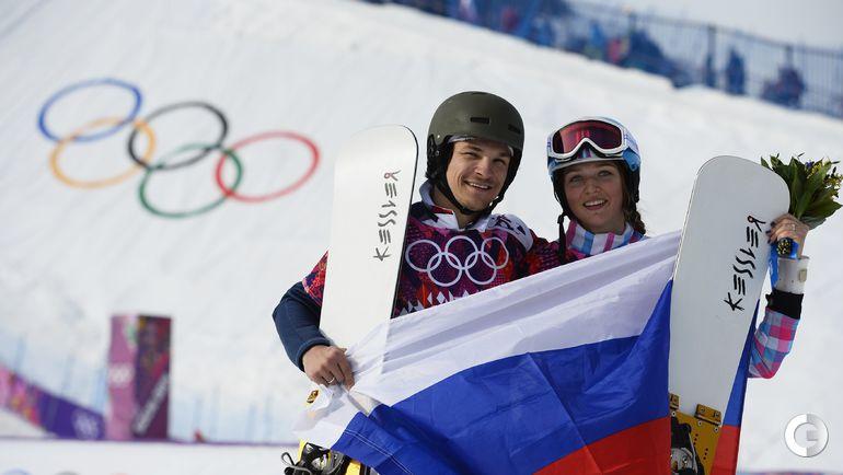 2014 год. Алена ЗАВАРЗИНА и Вик УАЙЛД. Фото REUTERS