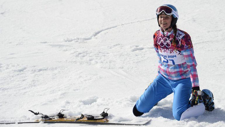 2014 год. Алена ЗАВАРЗИНА. Фото AFP