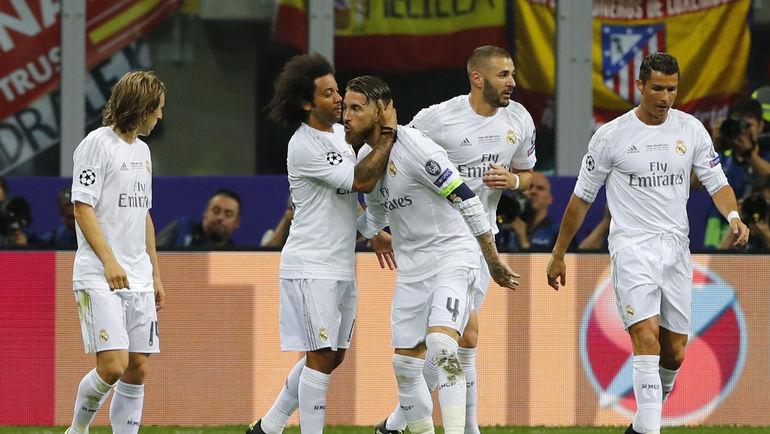 «Реал» выиграл у «Атлетико» в финале Лиги чемпионов (Видео)