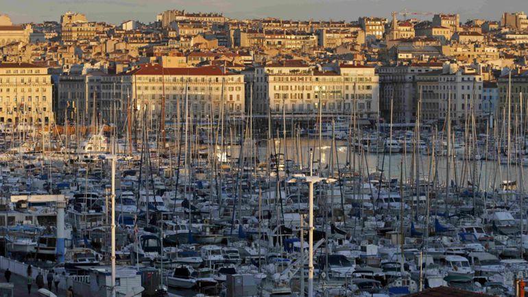 Вид на марсельский Старый порт. Фото REUTERS