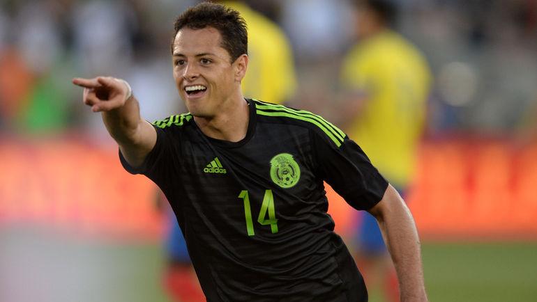 Нападающий сборной Мексики Хавьер ЭРНАНДЕС. Фото USA TODAY Sports