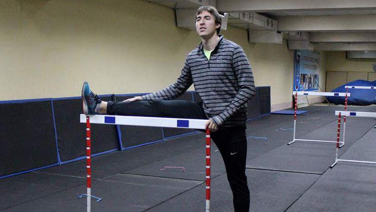Тренировка чемпиона мира-2015 Сергея ШУБЕНКОВА. Фото AFP