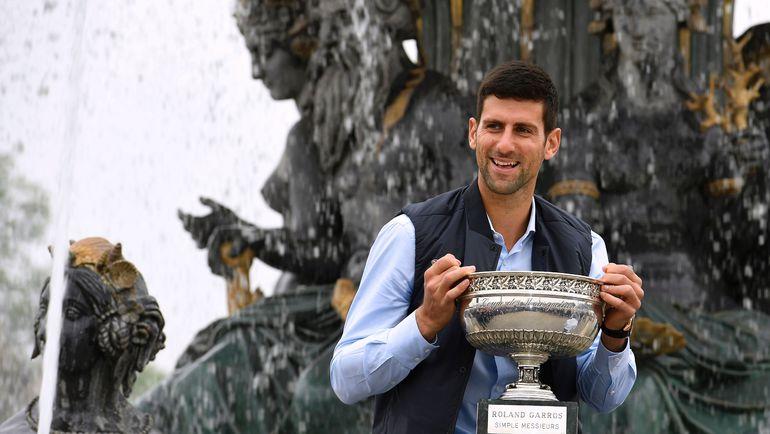 6 июня. Париж. Новак ДЖОКОВИЧ - победитель Roland Garros-2016. Фото AFP