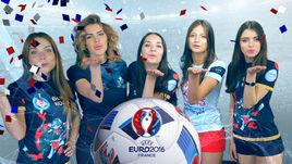 Выбери лучшую болельщицу сборной России из женской лиги!