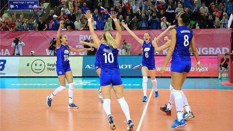 Сегодня. Калининград. Россия - Турция - 3:2. Три из трех! Фото fivb.org