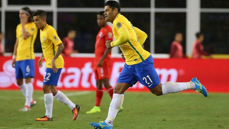 Воскресенье. Фоксборо. Бразилия – Перу – 0:1. В игре ХАЛК. Фото REUTERS