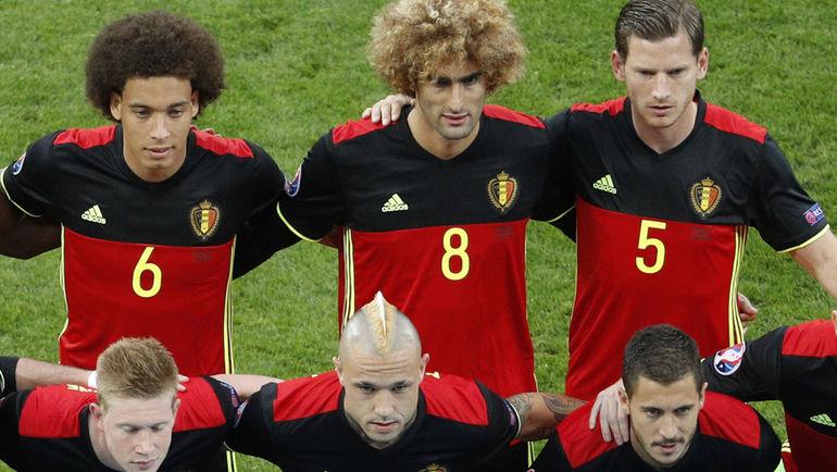 Сборную Бельгии причисляют к фаворитам турнира, нынешний подбор игроков называют «золотым поколением». Что ж, модная команда должна быть модной во всем. Фото REUTERS