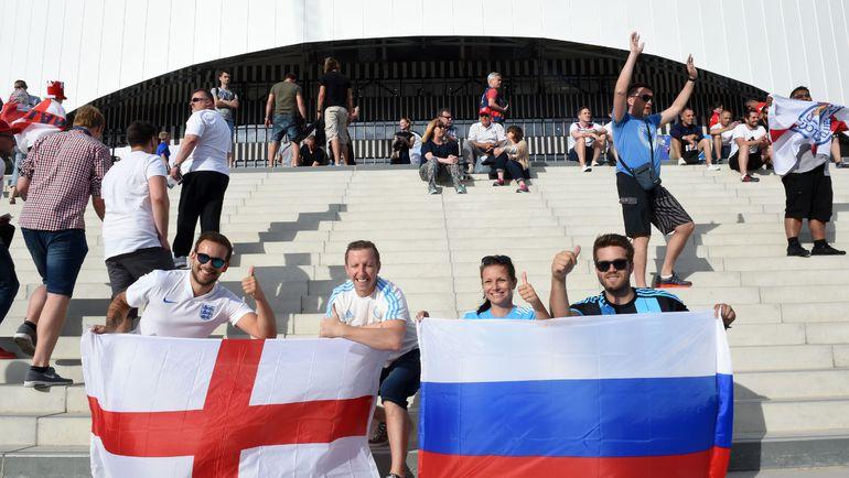 """У """"Велодрома"""" перед матчем Англии и России болельщики не только дрались друг с другом... Фото AFP"""