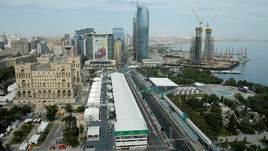 Те же, вид из Баку