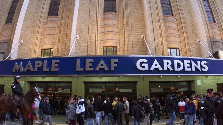 "Вход на арену ""Торонто"". Фото REUTERS"