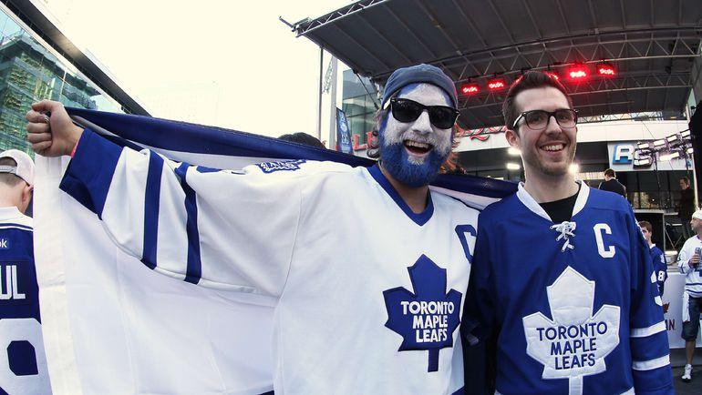 """Болельщики """"Торонто"""". Фото AFP"""