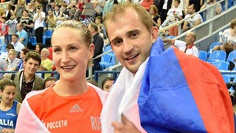 Доната РИМШАЙТЕ и Александр ЛЕСУН. Фото pentathlon-russia.ru