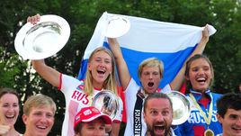 Россия - командный чемпион мира по пляжному теннису
