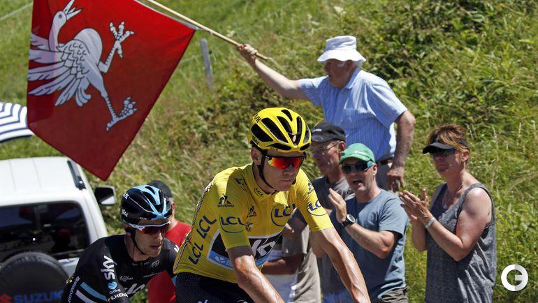 """Сегодня. 17-й этап """"Тур де Франс""""-2016. Фото REUTERS"""