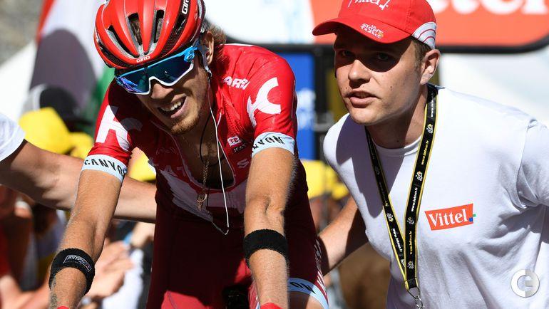 """Сегодня. 17-й этап """"Тур де Франс""""-2016.Ильнур ЗАКАРИН. Фото AFP"""