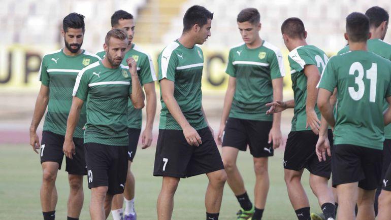 Соперник «Спартака» АЕК – сборная испанских ветеранов