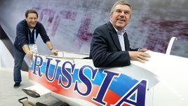 Президент ОКР Александр ЖУКОВ (слева) и президент МОК Томас БАХ – курс на Рио!