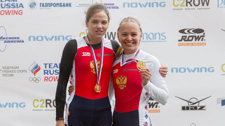 Анастасия ЯНИНА и Алена ШАТАГИНА. Фото Официальный сайт Федерации гребного спорта России.