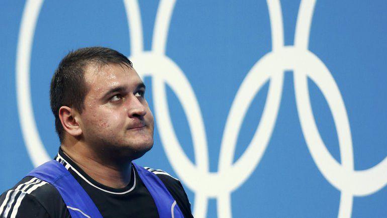 Руслан АЛБЕГОВ, как и другие российские тяжелоатлеты, не сможет выступить на Играх в Рио. Фото REUTERS