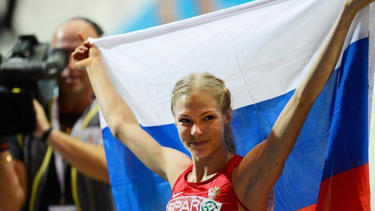 На момент написания этого материала официально допущен до Олимпийских игр был всего один спортсмен из России – Дарья КЛИШИНА. Фото AFP