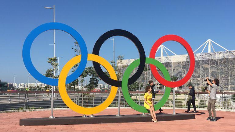 """Понедельник. Рио-де-Жанейро. Ощущение праздника в Олимпийский парк пока не пришло. Фото Дмитрий СИМОНОВ, """"СЭ"""""""