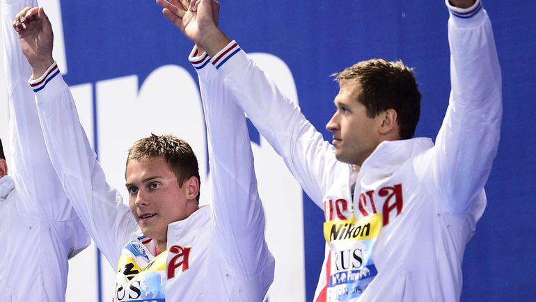 Владимиру МОРОЗОВУ (слева) и Никите ЛОБИНЦЕВУ почти разрешили выступить на Играх. Фото AFP