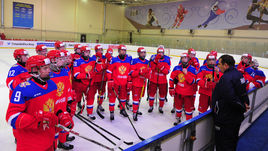Сборная U-18 тренируется в Новогорске