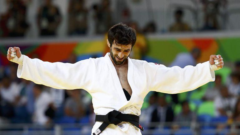 Сегодня. Рио-де-Жанейро. Беслан МУДРАНОВ - олимпийский чемпион! Фото REUTERS