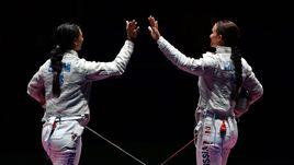 Сегодня. Рио-де-Жанейро. Яна ЕГОРЯН (слева) и Софья ВЕЛИКАЯ.